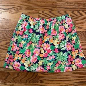 Lilly Pulitzer Pull on Skirt size M